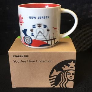 Starbucks New Jersey WE ARE HERE COLLECTION